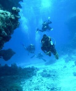 Pesca submarina y actividades subacuaticas